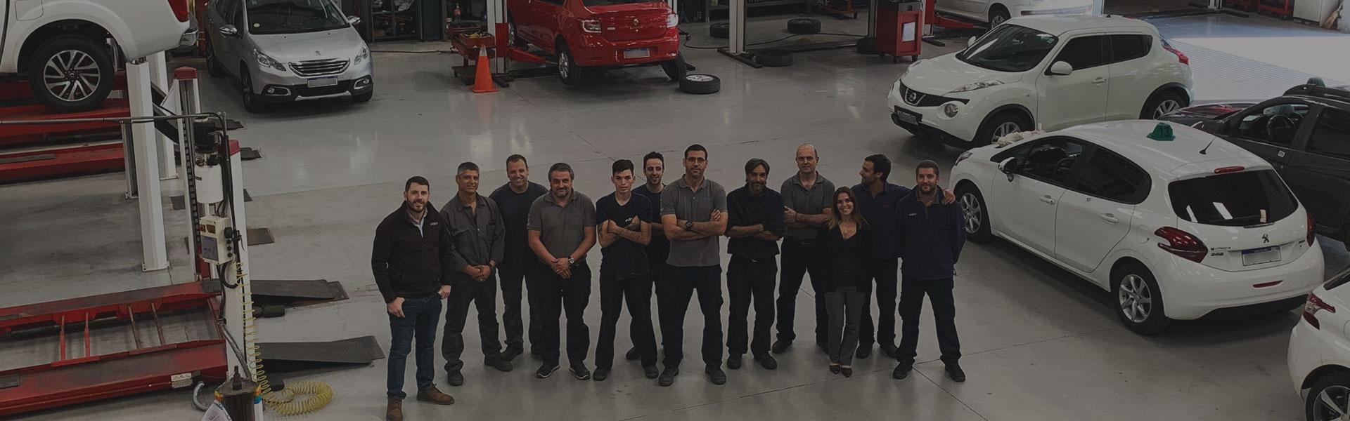 Imagen Staff completo - Taller Automotriz Multimarca Casey