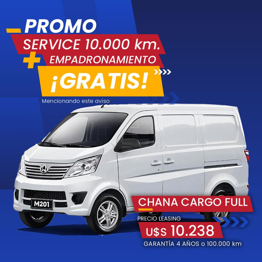 Promo Chana Star Cargo Full - Casey